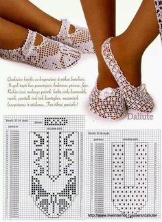 Al crochet es posible realizar todo tipo de prendas, incluso el calzado. En un post anterior te ense...