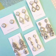 Earrings are my thing! @hautebridedesign #earrings #hautebride. #bridaljewelry (scheduled via http://www.tailwindapp.com?utm_source=pinterest&utm_medium=twpin&utm_content=post11491820&utm_campaign=scheduler_attribution)