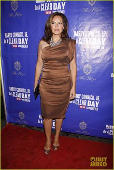 Mariska Hargitay carries VBH to the opening of 'On A Clear Day You can See Forever'