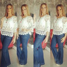 Me encanta la blusa de Gabriela Pazmiño