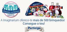 Amostras e Passatempos: Imaginarium - 500 Presentes Exclusivos