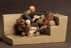 Free Shipping 1/35 Scale Resin Figure Modern US war in Afghanistan