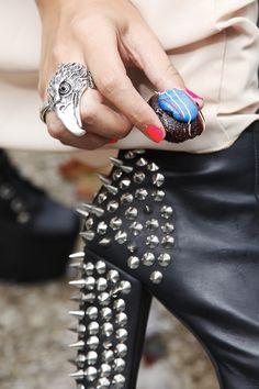 Sweet and studded.