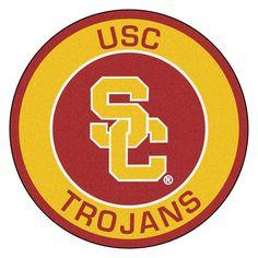 USC Trojans NCAA Rounded Floor Mat (29in)