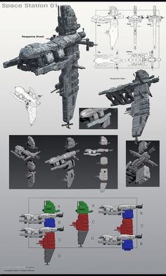 Starship Concept, Spaceship Design, Environment Concept Art, Space Station, Model Ships, Cyberpunk, Sci Fi, Robot, Illustration