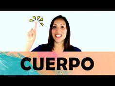 YouTube Elementary Spanish, Elementary Schools, Spanish Immersion, Language Acquisition, Brain Gym, Spanish Language, Body Parts, Preschool Activities, Classroom