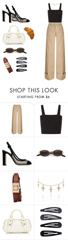 """""""D I O R 🌹."""" by bronzeiy ❤ liked on Polyvore featuring Nina Ricci, Valentino, Dolce&Gabbana, Gianfranco Ferré, Gucci, Christian Dior and Accessorize"""
