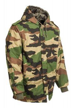 KATONAI TEREPMINTÁS KAPUCNIS KABÁT Army Shop, Military Jacket, Jackets, Fashion, Down Jackets, Moda, Field Jacket, Fashion Styles, Military Jackets