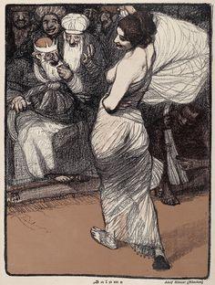 Salome. Adolf Münzer, Jugend magazine, 1899.