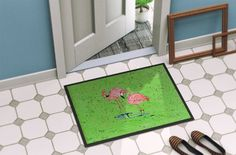Flamingo Indoor or Outdoor Mat 24x36 8567 Doormat