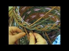 Como terminar la cesteria. Parte 5.2 - YouTube