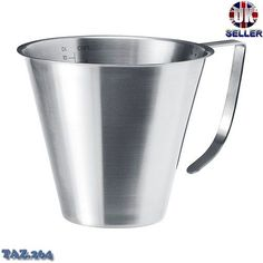1 LITRE MELTING JUG POT IDEAL FOR WAX - Candle Making - I am going to use this to make my own handcream - using this recipe - http://wellnessmama.com/3765/homemade-lotion-recipe/.