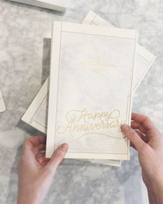 Popping some new Happy Anniversary Greeting Cards - Bespoke Letterpress - Anniversary Greeting Cards, Happy Anniversary, Letterpress Wedding Invitations, Letterpress Printing, Stationery Paper, Stationery Design, Birthday Gift Wrapping, Birthday Cards, Typography Letters