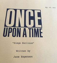 Hey look, it's another #OnceUponATime #titlespoiler !  Hope to see ya 9/27 for season 5!