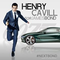 Henry Cavill for James Bond by Uriel Welsh