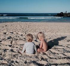 man cubs at the beach
