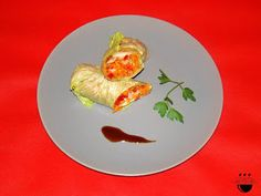 Rotllet d'enciam amb fruits secs / Rollito de lachuga con frutos secos