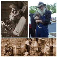 Barney legendary Moonshiner also played Music & Loved Animals was known to Carry a Possum & Have a Pet Deer #Moonshiners