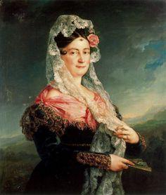 1833 Vicente López Portaña - Dolores Gómez de las Casas de Tirel, Marquesa de la Ulagares