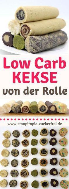 Dieses Rezept für Low Carb Kekse hat wirklich eine enorme Vielfalt. Du kannst den Keksteig mit allen denkbaren Zutaten deiner Wahl kombinieren und erhältst somit im Handumdrehen köstliche, selbstgemachte Low Carb Kekse ganz nach deinem Geschmack. Heute zeige ich dir gleich 7 verschiedene Variations-Möglichkeiten des Teiges für die Low Carb Kekse. #plätzchen #lowcarb #einfach #schnell #backen #staupitopia