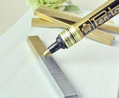 A paint pen can change your staples for those special items like invitations and programs.