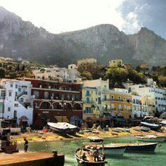 Capri, Italy! #lonelyplanet