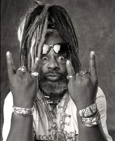 """The Atomic Dog"" George Clinton was born July 22, 1941 in Kannapolis, NC.  *woof*"