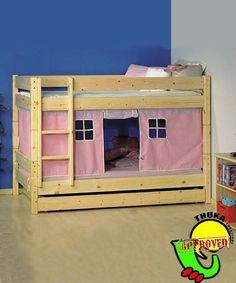 & No-Sew Loft Bed Felt Tent Tutorial | Creative Loft beds and Bed tent