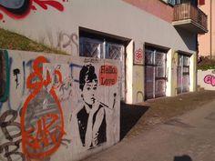 Every single journey to Winterthur #Wipkingen #HelloLove #Audrey #Graffiti #Art