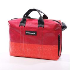 LOVE Freitag's awesome recycled AND uber fashionable bags and totes! #luggage #totebag Freitag F77 BEN