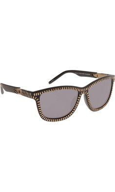 Alexander Wang Zipper Frame Sunglasses