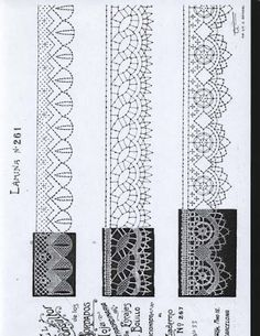 renda de bilros / bobbin lace esquemas / patterns Irish Crochet, Crochet Lace, Bruges Lace, Bobbin Lacemaking, Bobbin Lace Patterns, Point Lace, Lace Jewelry, Needle Lace, Lace Making