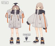 Female Character Design, Character Design Inspiration, Character Design References, Character Art, Anime Outfits, Cool Outfits, Vetements Clothing, Drawing Anime Clothes, Cute Art Styles
