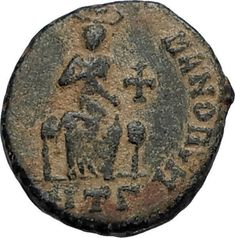 The marriage took place on 27 April without the knowledge or consent of Rufinus. For Eutropius it was an attempt to increase his own influence over the emperor and hopefully ensure the loyalty of the new empress to himself. Ancient Roman Coins, Ancient Romans, Greek Gods And Goddesses, Rare Coins, Coin Collecting, Artemis, Seals, Cool Artwork, Medieval