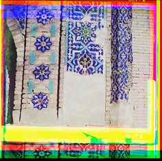Tiles in Uzbekestan