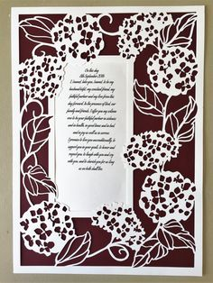 Personalised Papercuts for Weddings, Anniversary, First Anniversary and Special occasions First Anniversary, Paper Cutting, Special Occasion, Day, Unique Jewelry, Frame, Handmade Gifts, Weddings, First Birthdays