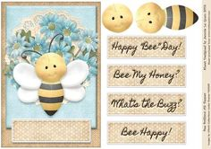Bee Brilliant A5 Topper on Craftsuprint - Add To Basket!