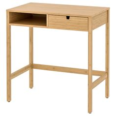 НОРДКИЗА Туалетный столик, бамбук купить онлайн в интернет-магазине - IKEA Open Wardrobe, Sliding Wardrobe Doors, Sliding Door, Capsule Wardrobe, Ikea Lisabo, Brimnes Dressing Table, Micke Desk, Painted Drawers, White Desks