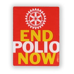 cfe31ab756f Russell-Hampton Co. Rotary Club Supplies  End Polio Now Lapel Pin