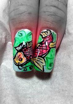 FISH #nail #nails #nailart