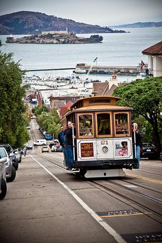 San Francisco Bucket List: Take a cable car Plan your #San #Francisco trip now or just explore: http://georama.com/#Explore/United-States/San-Francisco/Plan/Info