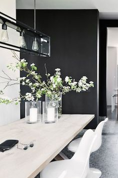 ... white and black home in Belgium   photography Jan Verlinde ...