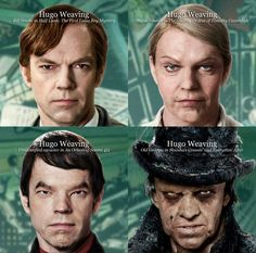 See the Many Faces of Hugo Weaving in Cloud Atlas -- Vulture