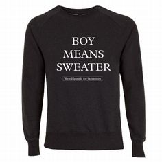Boy Means Sweater