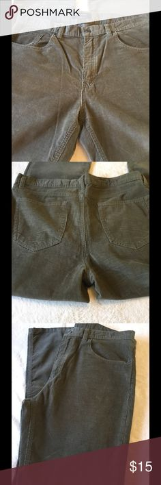 """BANANA REPUBLIC MENS CORDS PANTS 38x 32 BRAND NEW never been worn but TAGS are off. MENS cords color is khaki/sage. Waist 38"""" - length 32"""". 100% COTTON. BANANA REPUBLIC. Banana Republic Pants Corduroy"""