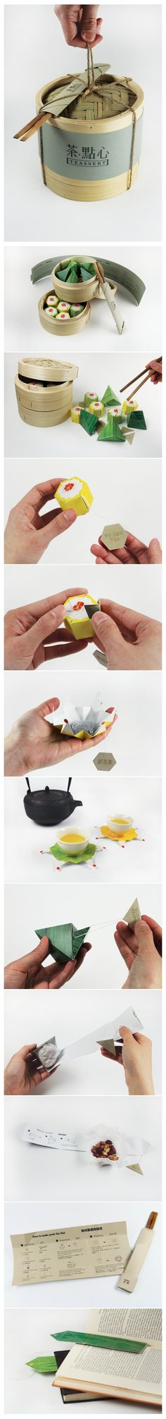 Chinese Teassert packaging design