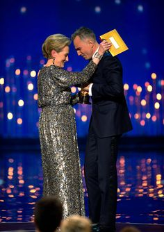 Presenting Daniel Day-Lewis his third Academy Award ~ 2013 He was wonderful in Lincoln!
