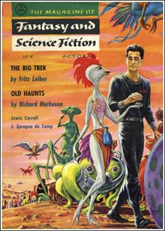 Fritz Leiber - The Big Trek. The Magazine of Fantasy and Science Fiction, October 1957.
