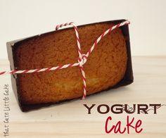 {Recipe} French Yogurt Cake - Gateau au Yaourt | That Cute Little Cake