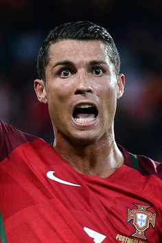 #EURO2016 Cristiano Ronaldo of Portugal during the UEFA EURO 2016 Group F match between Portugal and Austria at Parc des Princes on June 18 2016 in Paris France